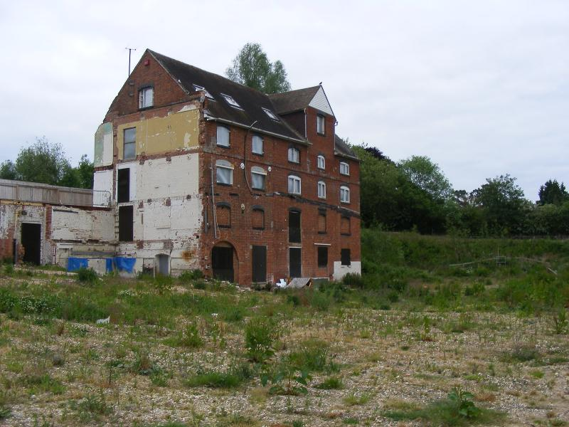 Abandoned mill england