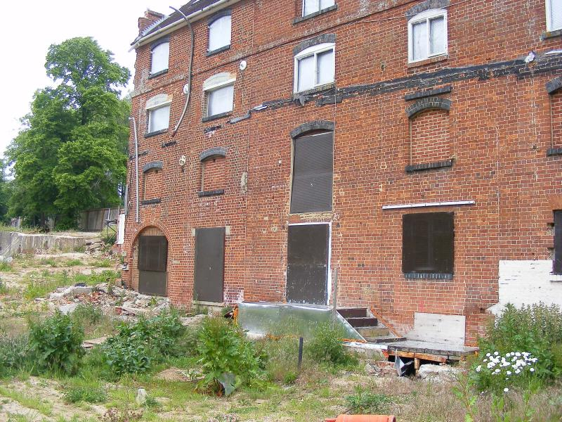 Abandoned mill bishop's waltham