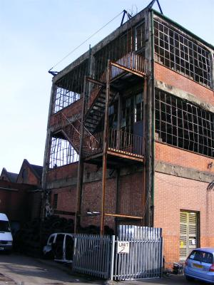 abandoned factory england